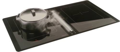 Keuken Afzuigkap Inbouw : Inbouw kookplaat met geintegreerde DownDraft afzuigkap