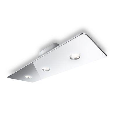 Philips 31606 3 Light Ledino LED Semi Flush Ceiling Light - Lighting