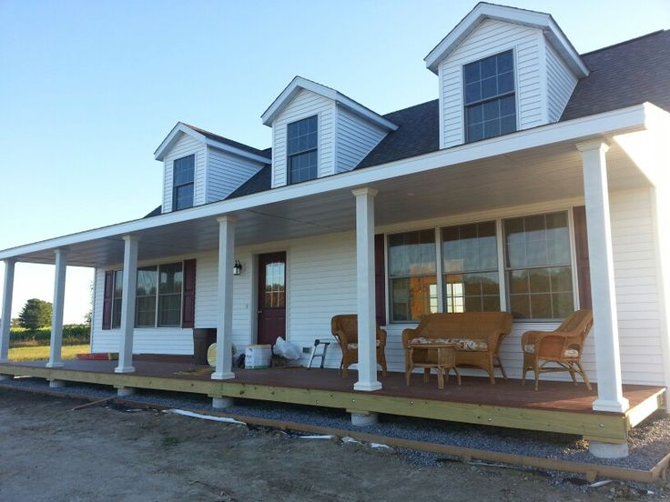 Front porch of our cape cod my cape cod house pinterest Portico on cape cod house