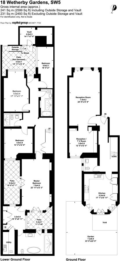 Two Story Condo Floor Plans Pinterest