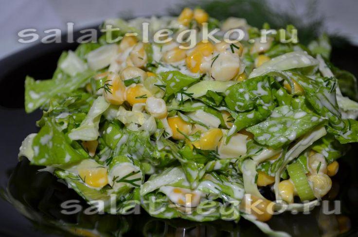 Зимние салаты на скорую руку рецепты из простых продуктов