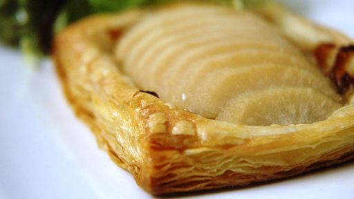 ... pear and blue cheese tart recipe myrecipes com blue cheese and pear