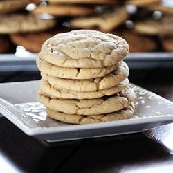 Soft & Chewy Vanilla Butter Cookies | FOOD! | Pinterest