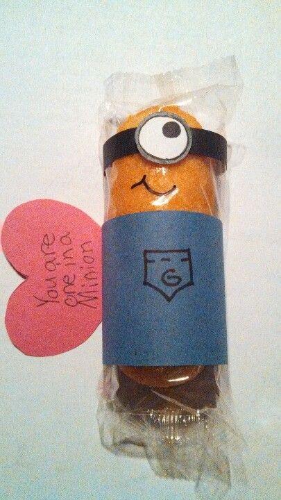 evil minion valentines day box