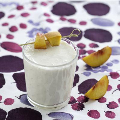 Peach Melba Breakfast Smoothie