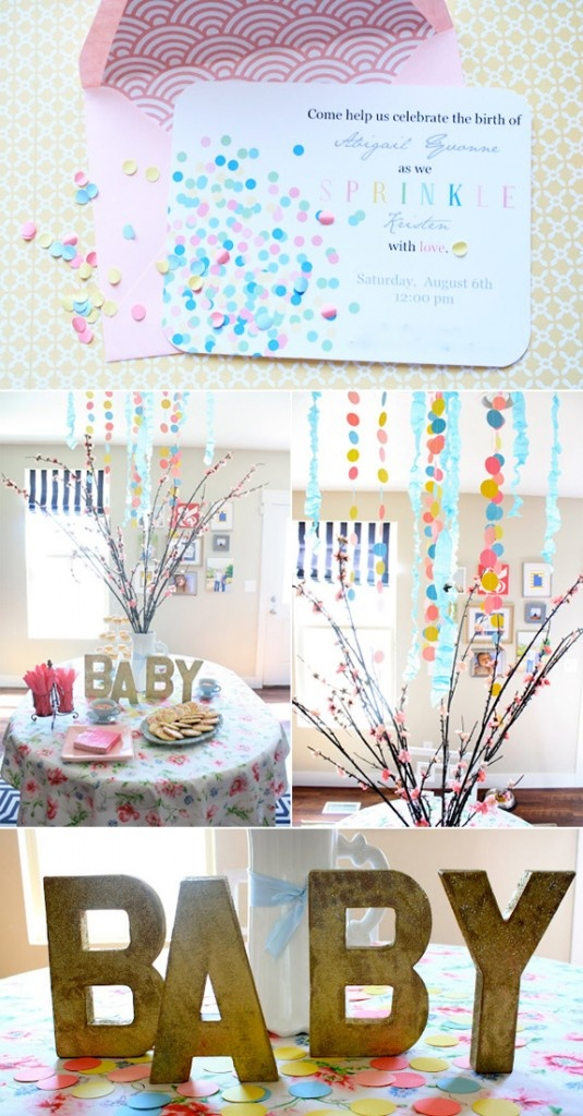 letters and garlands baby shower ideas pinterest