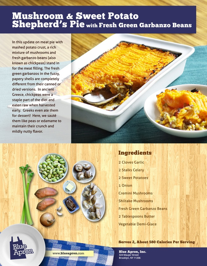 Lentil, Mushroom & Sweet Potato Shepherd's Pie Recipe — Dishmaps