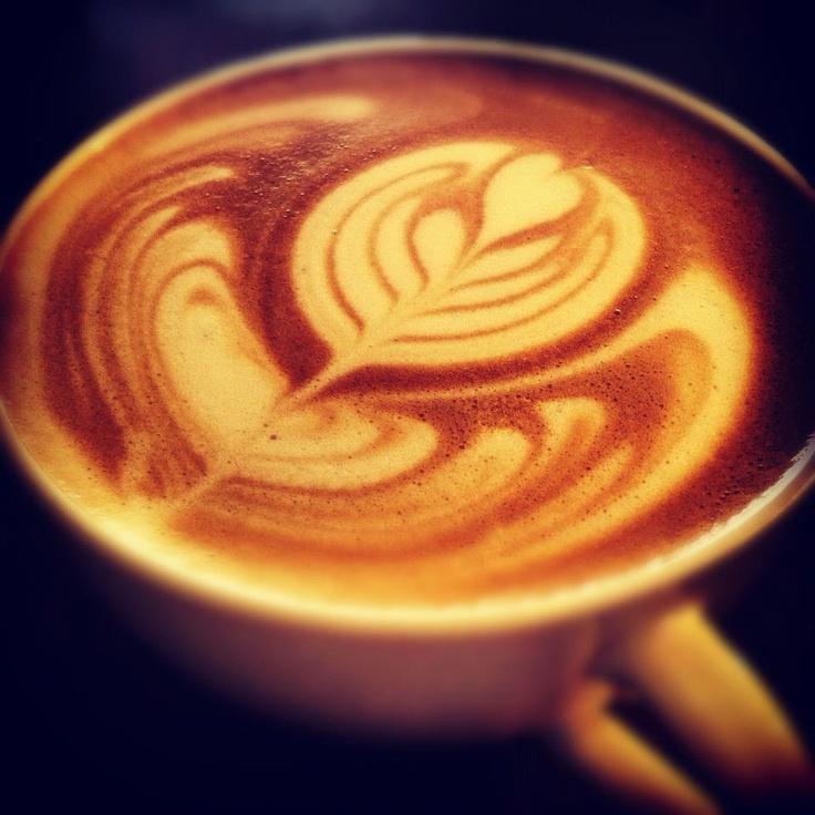 Latte Art Tulip tulip latte art