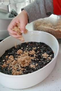 Blackberry Crumble...So Wonderful, So Marvelous...and ohhhh So Easy!!!