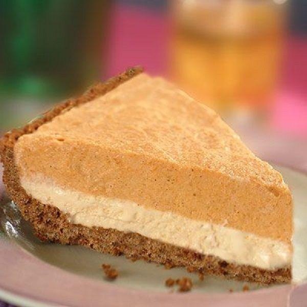 Pumpkin Mousse Ice Cream Pie Recipe | Pumpkin time! | Pinterest