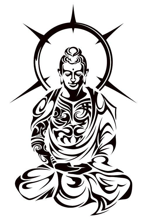 Эскиз воинЙога и татуировки 190