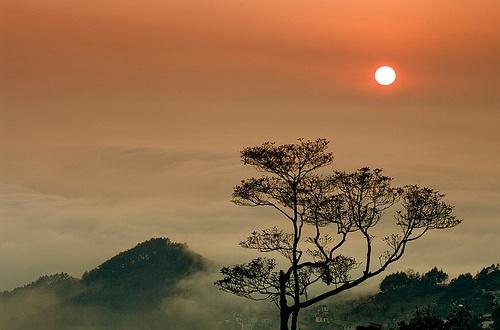 Tam Dao (Vinh Phuc) Vietnam  city photo : Sunset on Tam Dao, Vinh Phuc province, Vietnam