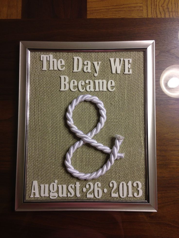 Cute Wedding Gifts Diy : Cute DIY wedding gift DIY gifts and such! Pinterest