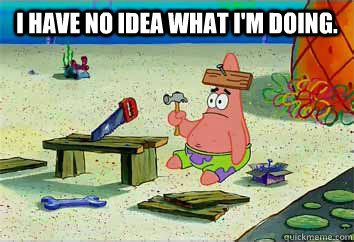 This is how I feel when I'm trying to do organic chemistry