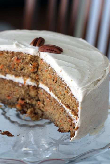 Carrot And Cardamom Cake With Mascarpone Frosting Recipe ...
