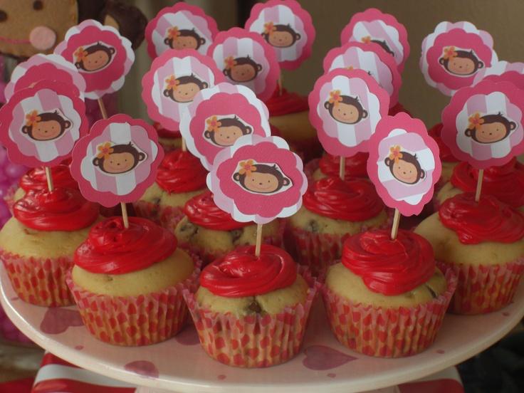 Monkey love cupcakes - photo#2