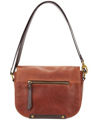 Tignanello Handbag, Classic Essentials Leather Saddle Bag - Handbags & Accessories - Macy's $155