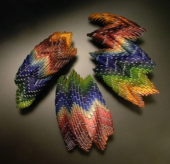 Jana Roberts Benzon - Her Bargello - New Age version.