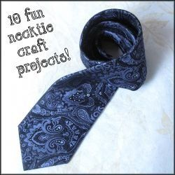 Upcycled Neckties – Ten Fun Craft Ideas and DIY Projects. http ...