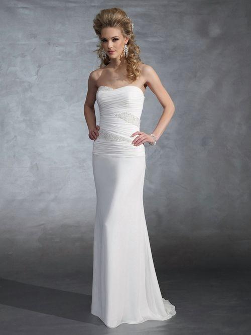 Wedding dresses add straps wedding dress ideas pinterest for Wedding dresses straight cut
