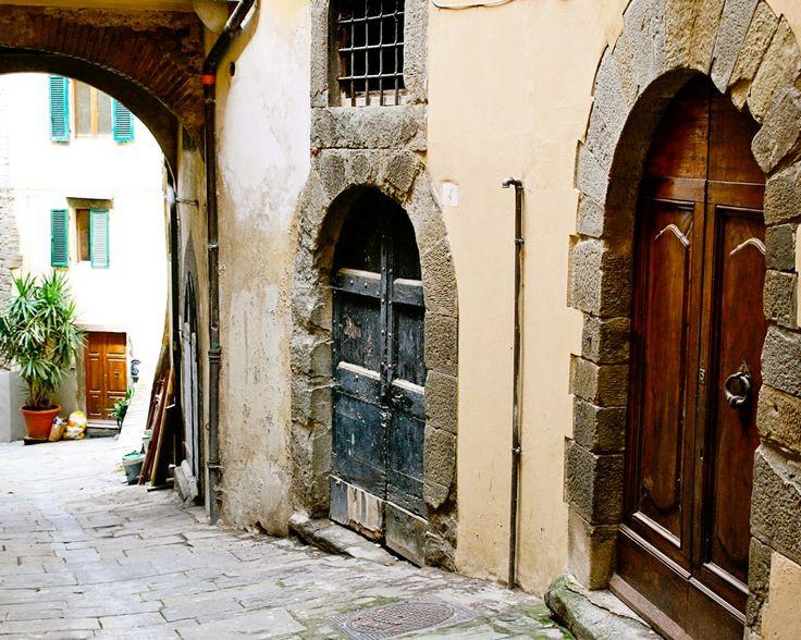 tuscan door photograph italy photography italian home
