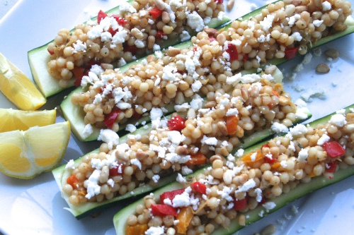 feta and pine nut relish of grilled zucchini with feta and pine nuts ...