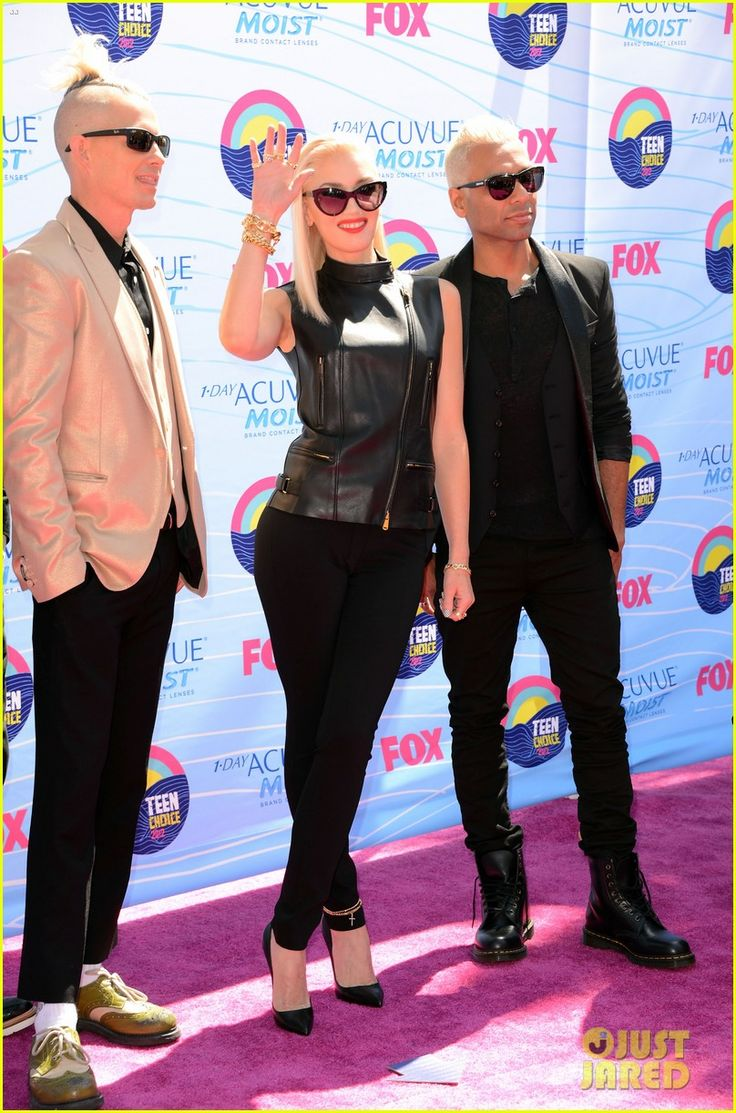 One of my style icons - Gwen Stefani & No Doubt - Teen Choice Awards 2012
