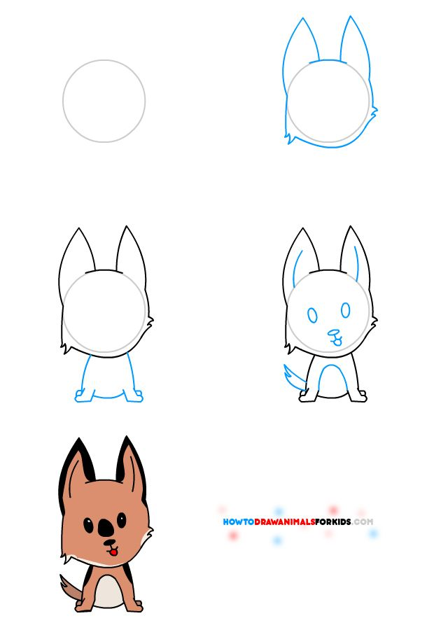 Scribble Drawing Kids : How to draw animals for kids drawing manga anime