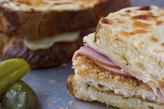 Leisurely Lunch Recipe: Chicken Cordon Bleu-Croque Monsieur ...
