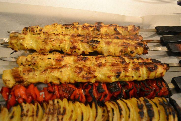 Jujeh Kabob - Persian Chicken Kabob | Food/Recipes | Pinterest