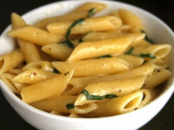 Pasta with Meyer Lemon and Basil by sheryl