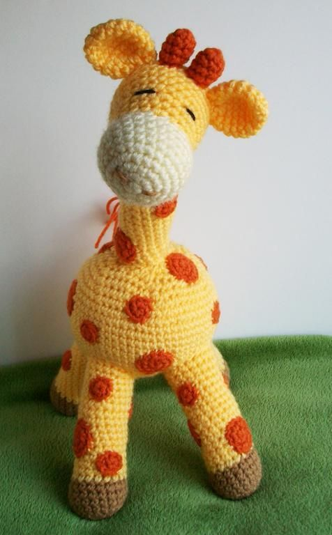 Baby Giraffe THREADS - CROCHET Pinterest
