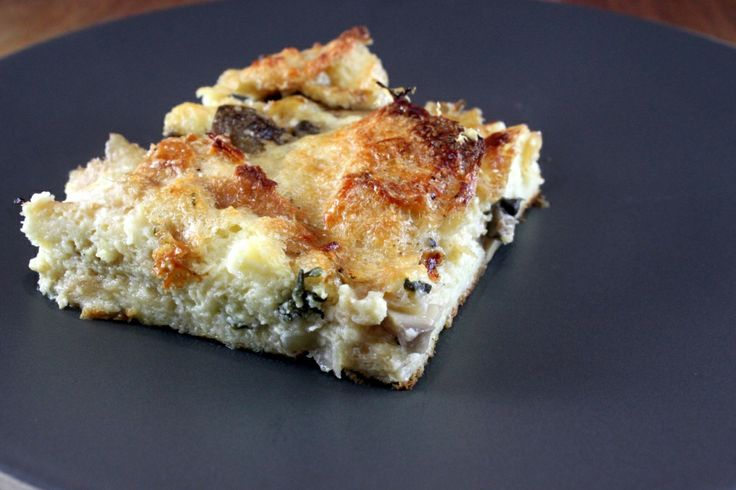 """Mushroom Bread """"Pudding""""   Sides/Dips/ and...   Pinterest"""