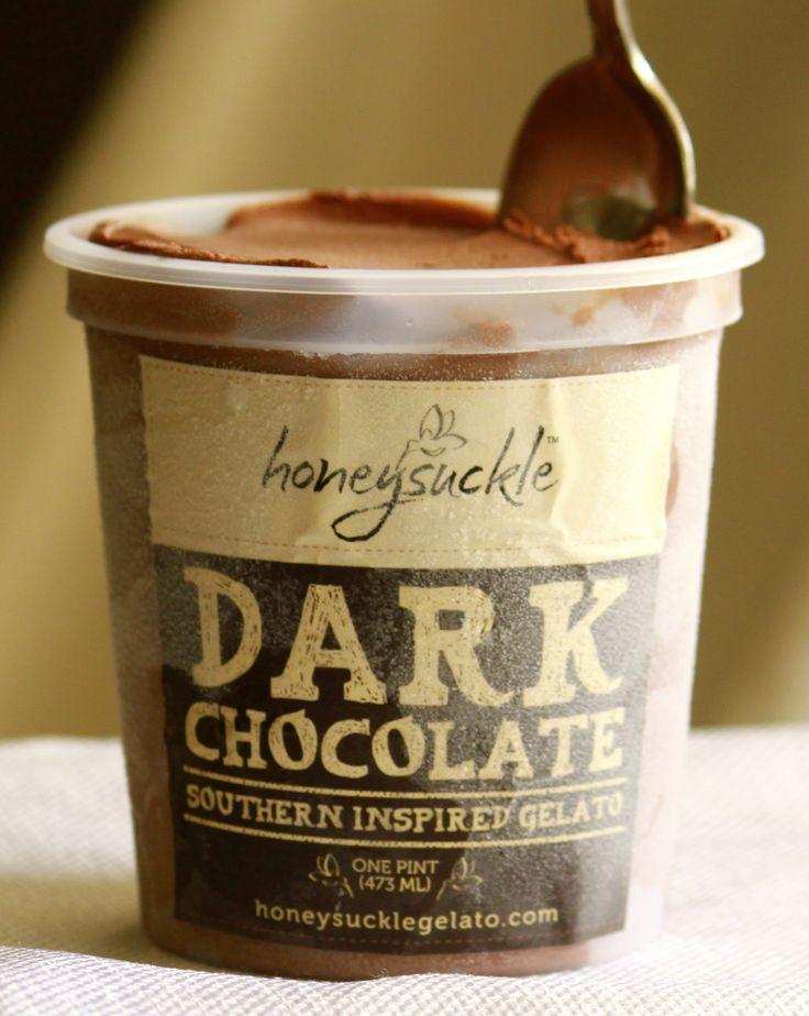 dark chocolate gelato foodnouveau com this chocolate gelato was dark ...