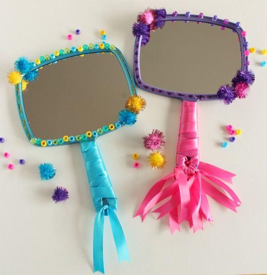 """""""Mirror Mirror"""" Snow White Kids Craft"""