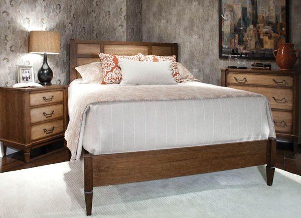 At Durham Furniture Habor Loft Solid Wood Bedroom Furniture