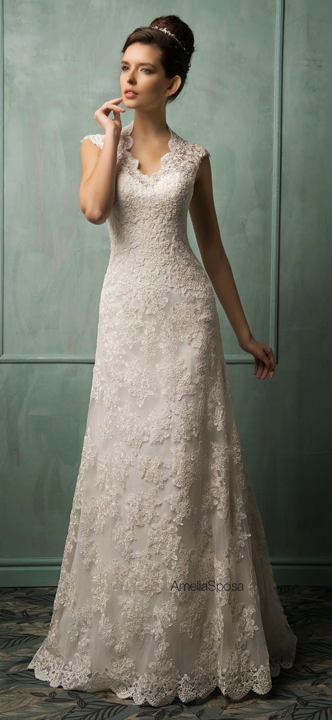 Cheap country lace wedding dresses  Jennifer St John jstjohn on Pinterest