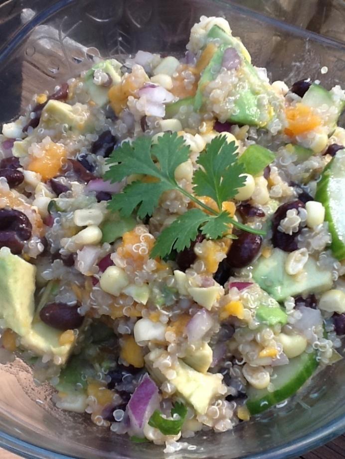 Southwest Quinoa Salad | yumm | Pinterest