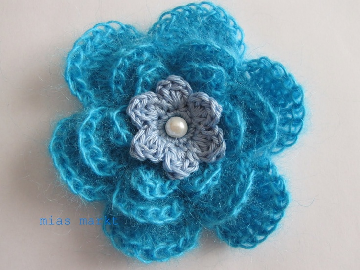Irish Crochet Rose Motif Free Pattern : crocheted: irish rose pattern Tejidos Crochet Pinterest