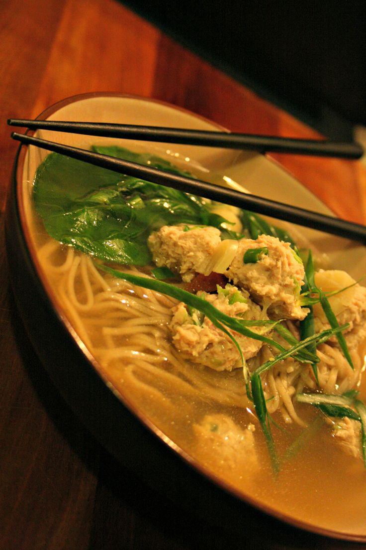 Chinese Chicken Dumpling Soup | Chinese Cuisine | Pinterest