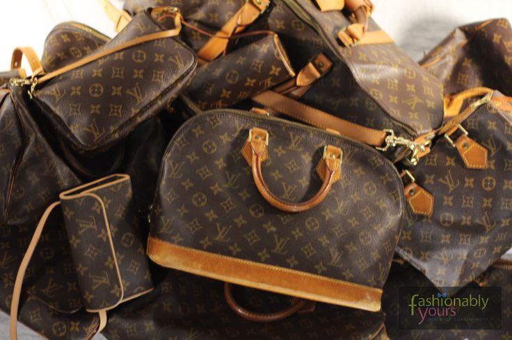 Love the vintage LV bag