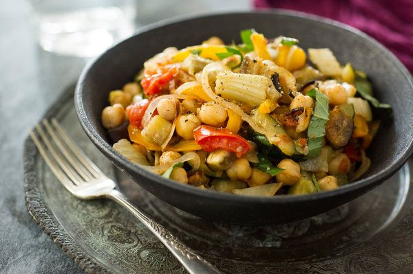Chickpea and Fennel Ratatouille