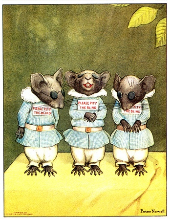 Three Blind Mice, illustrated by Peter Newell.