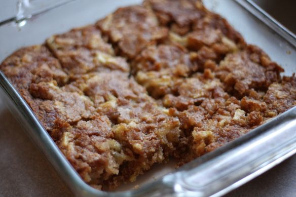 Apple brownies | Yummy!! | Pinterest