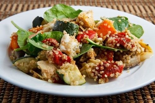 Roasted vegetable quinoa salad | What's Cooking | Pinterest