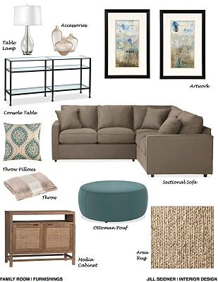 This post has a bunch of concept boards to pull some inspiration from. I love neutral & blue themes!