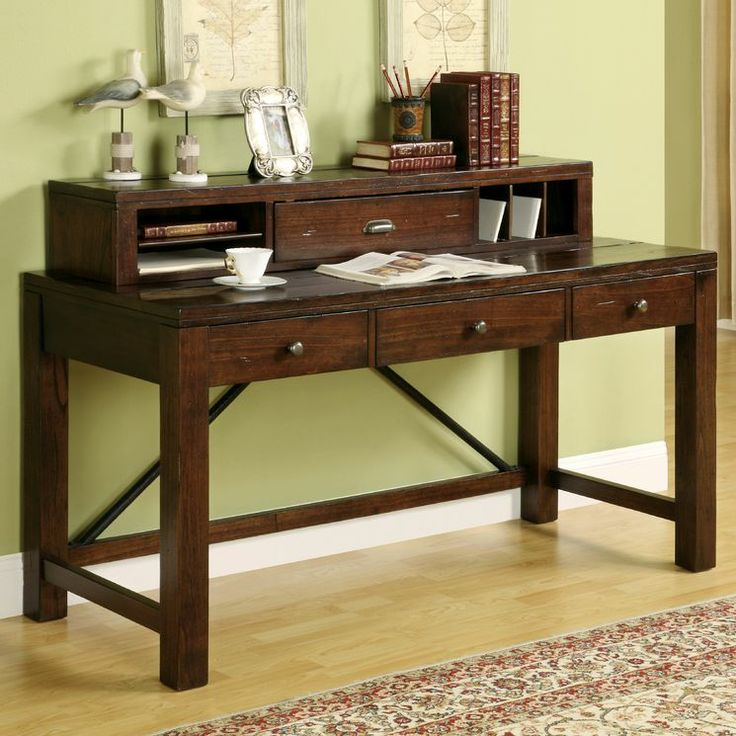 Writing Desk With Hutch ~ Castlewood writing desk with hutch