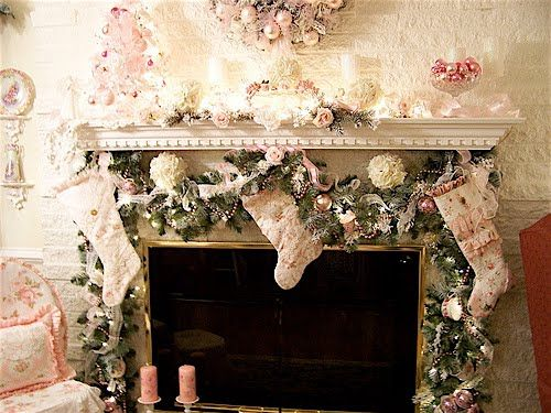 Romantique inspirations home for the holidays pinterest for Shabby romantique