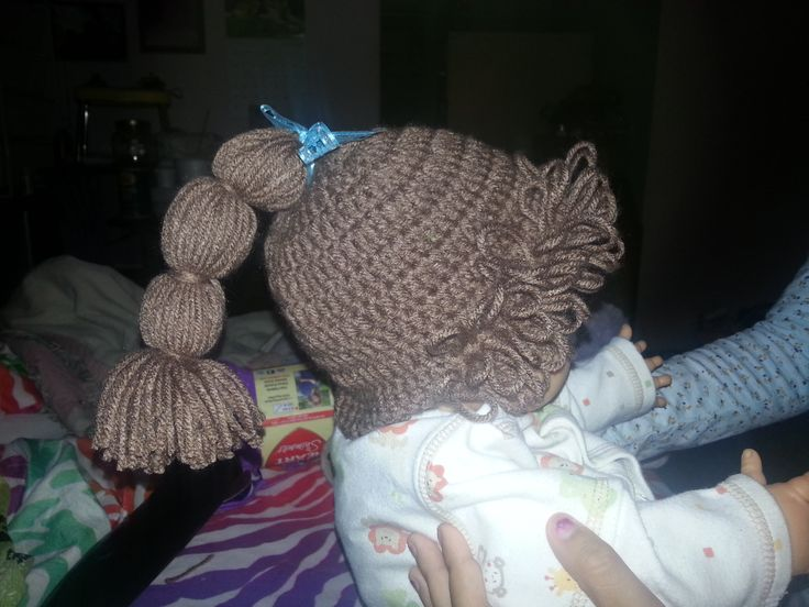 Knitting Pattern For Cabbage Patch Hat : cabbage patch hat My Crochet Pinterest