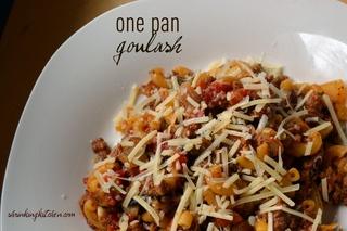 One Pan Goulash